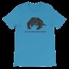 Mascot Mens T-Shirt Light Blue