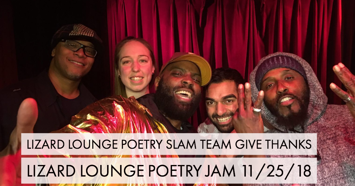 Slam Team Gives Thanks